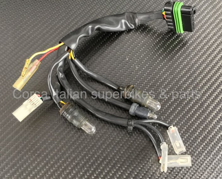Ducati oem instrument panel gauge wiring harness 748 916 996 998 on ducati 996 wiring harness New Ducati 996 Ducati 996 Trouble
