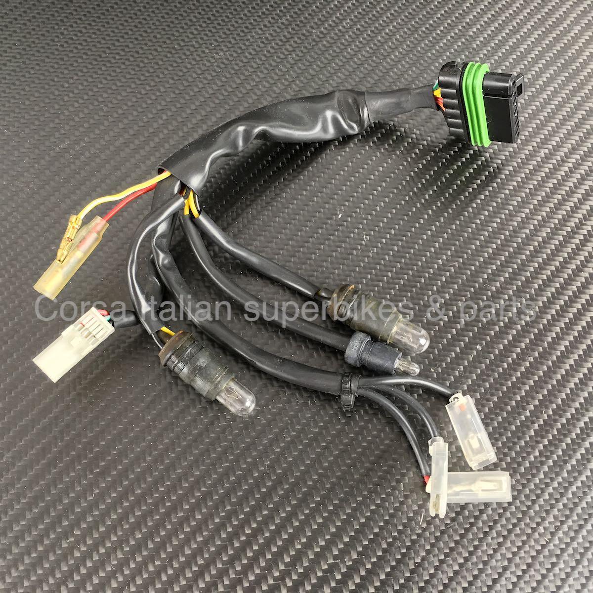 ducati oe instrument panel gauge wiring harness 748 916