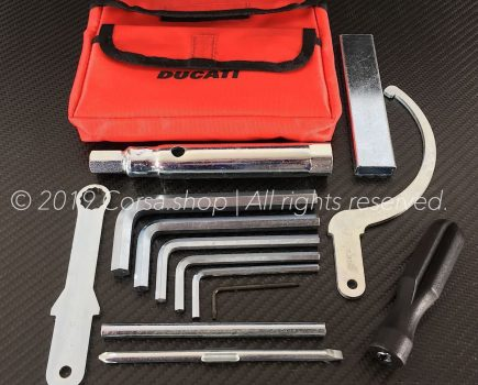 Genuine Ducati tool bag incl. tools. Ducati partno. 69720082B.