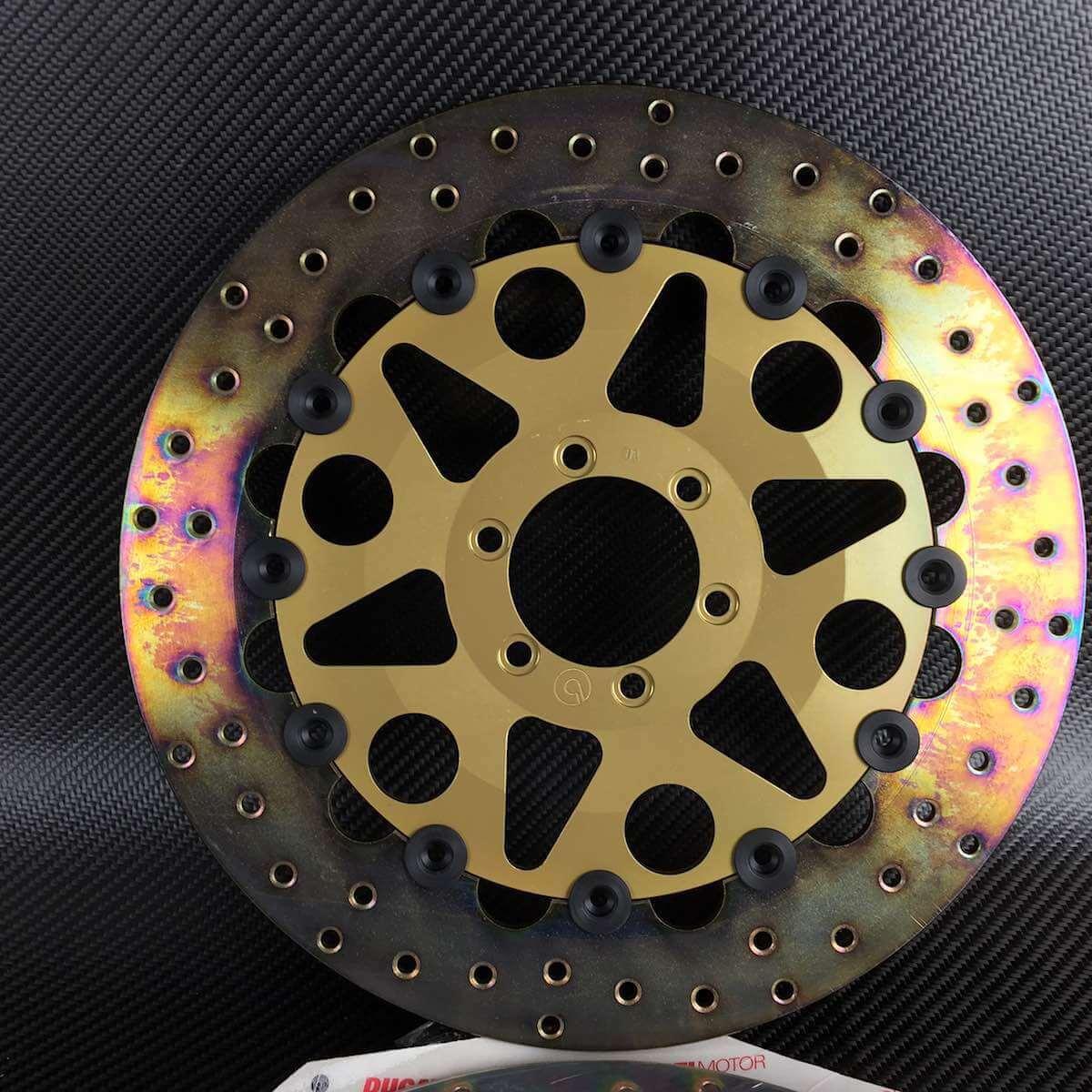 Ducati brembo cast iron rotors brake discs sp