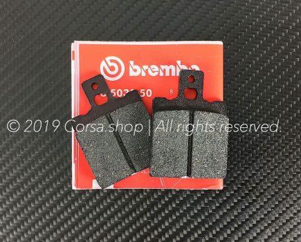 Genuine Ducati Brembo brake pads. Size:40,0 x 56,2 x 7,0. Compound: Ferit I-D 450FF. Ducati part-no. 61340081a.