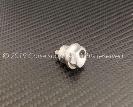Genuine Ducati magnetic oil drain plug. Ducati part-no. 89310153A repl. 89310151A.