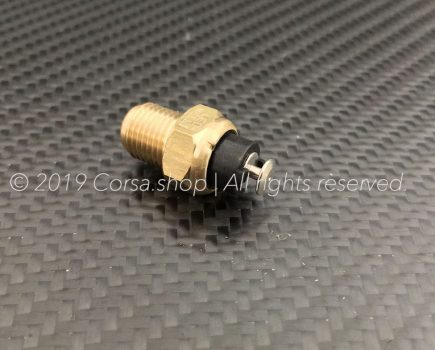 Genuine Ducati thermistor, oil temperature sensor / switch. Ducati part-no: 55210452A replaces 55210451A, 55240041A & 55240042A.