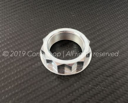 Genuine Ducati M38 rear wheel nut / castle. Ducati Part-no. 75011891AA