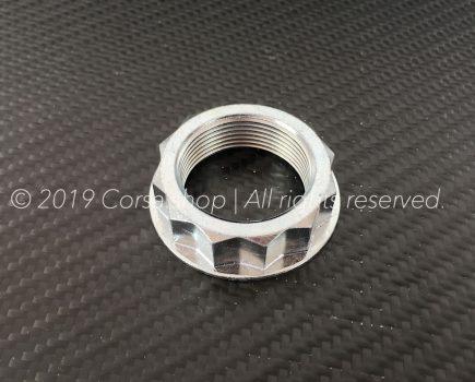 Genuine Ducati M38 rear wheel nut / castle. Ducati Part-no. 75011891AA