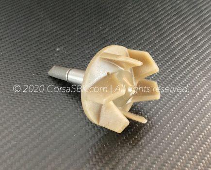 Genuine Ducati waterpump rotor / impeller. Ducati art-no. 25120011A replaces 25120021A, 400520233.