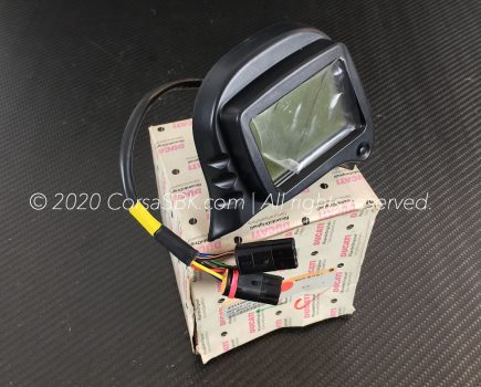 Genuine Ducati LCD module display / digital trip computer, part-no. 40410041A.