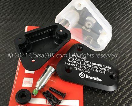 Genuine Ducati Brembo clutch fluid reservoir cap. Ducati part-no. 58540071A.